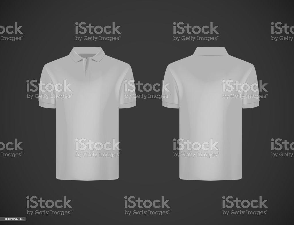1e1aac8810 Camisa de polo de manga corta de la delgado-guarnición de los hombres.  Camiseta