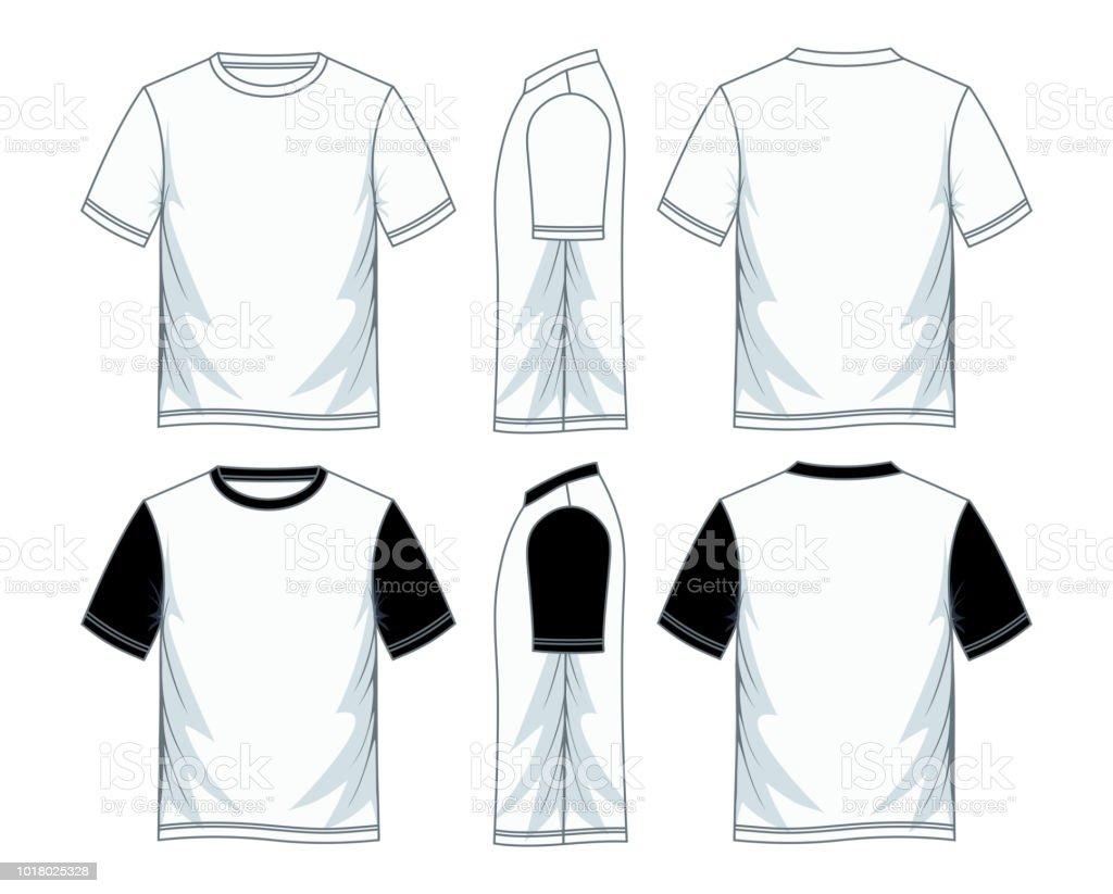 Herren Tshirtdesignvorlage Stock Vektor Art Und Mehr Bilder Von