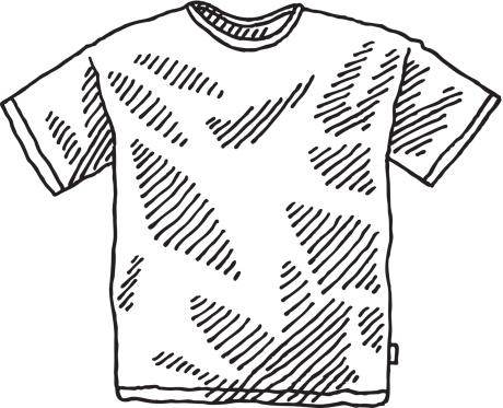 Men's T-Shirt Drawing