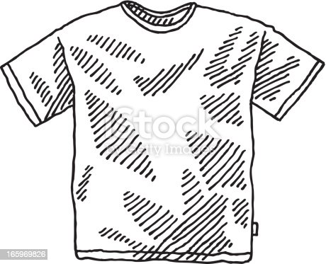 Hombres de camisetas dibujo