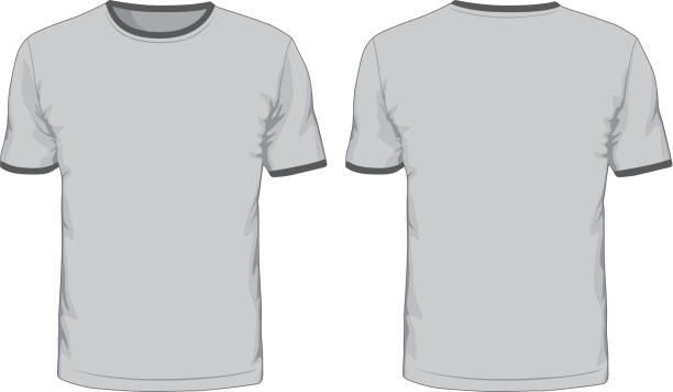 Royalty Free T Shirt Front And Back Clip Art, Vector Images ...
