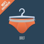 Men's underwear vector illustration