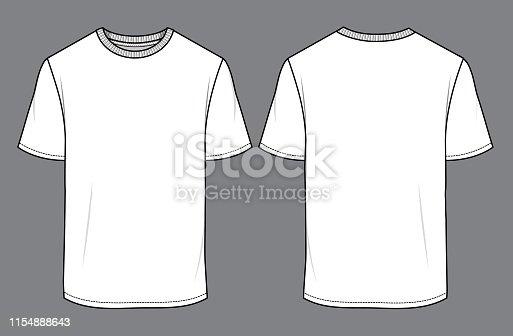 Camiseta de hombre blanco Mock up 01