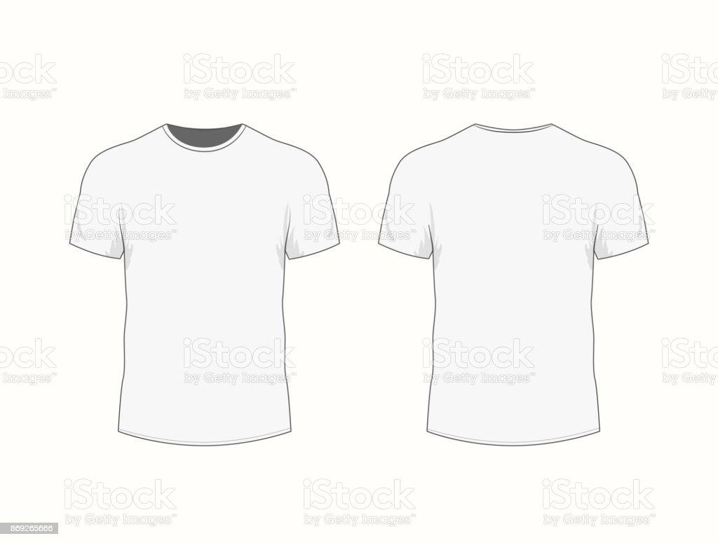 Manga El Corta Ilustración Blanca Los Hombres En Camiseta De Con rxeCoWdB