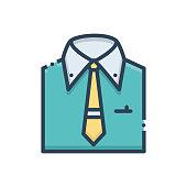 istock Menswear shirt 1256410227