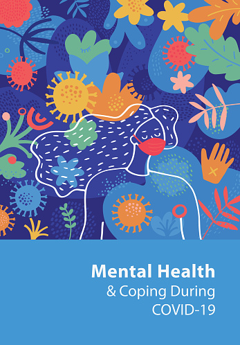 Mental Health And Coping During COVID-19 Cover Template