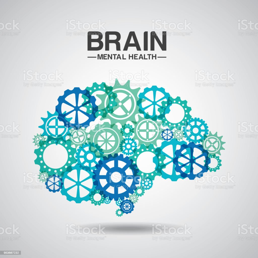 mental health design royalty-free mental health design stock illustration - download image now