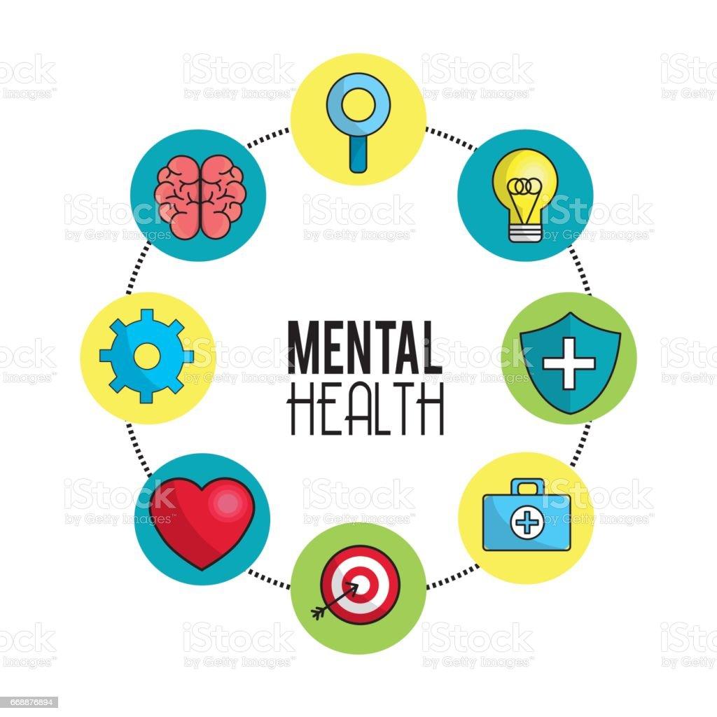 24ea5d480 Consejos de símbolo de salud mental ilustración de consejos de símbolo de  salud mental y más