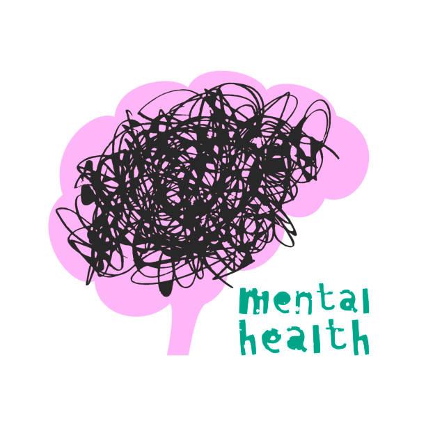 bildbanksillustrationer, clip art samt tecknat material och ikoner med psykisk hälsa. vektorillustration - illustrationer med hongkong
