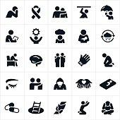 Mental Illness Icons