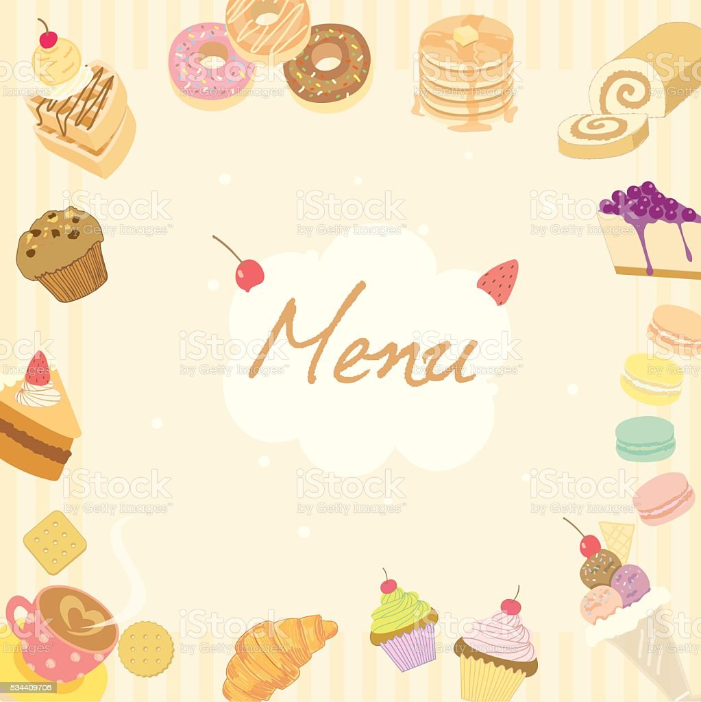 Background menu image