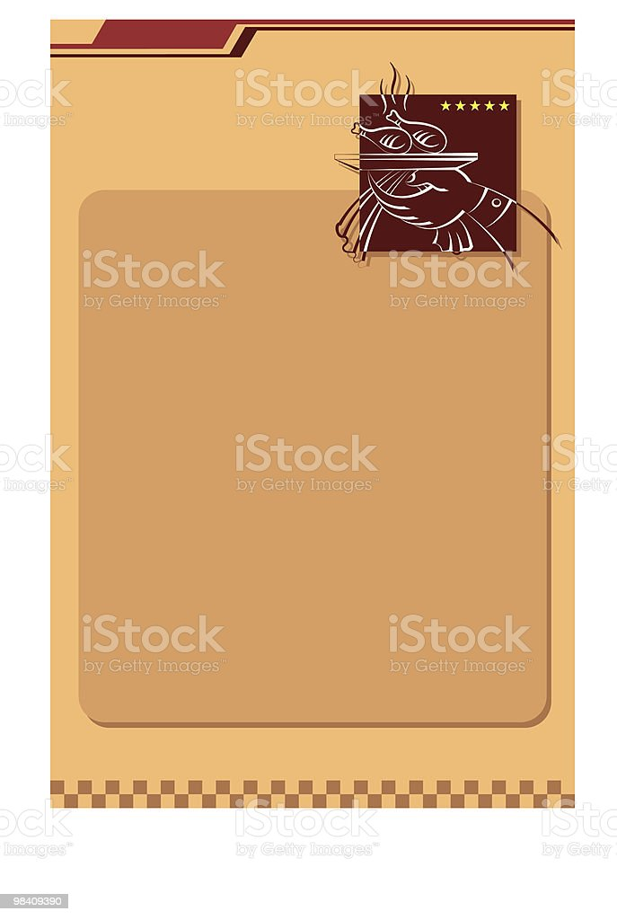 Menu Card Design Background royalty-free menu card design background stock vector art & more images of abstract