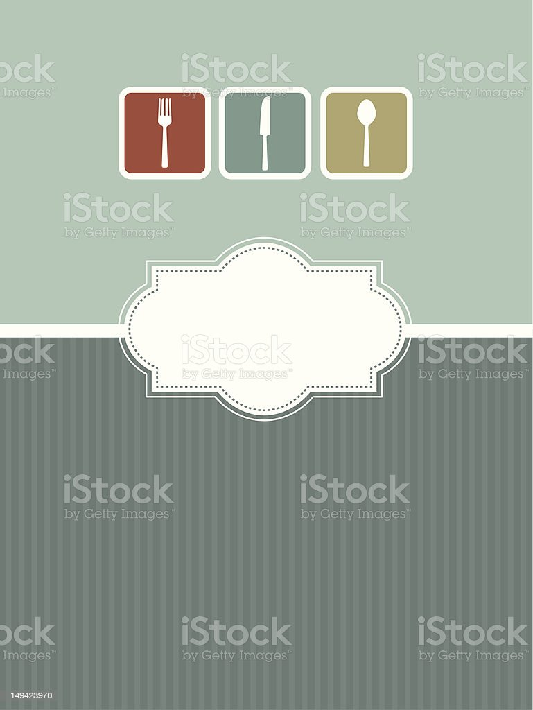 Menu Design royalty-free menu design stock vector art & more images of backgrounds