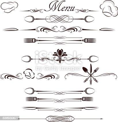 menu divider