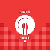 menu food and drink design