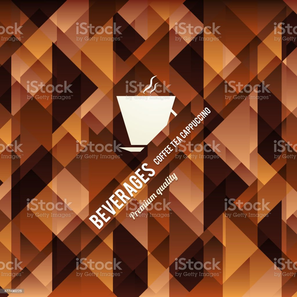 Menu for restaurant, cafe, bar, coffeehouse royalty-free stock vector art