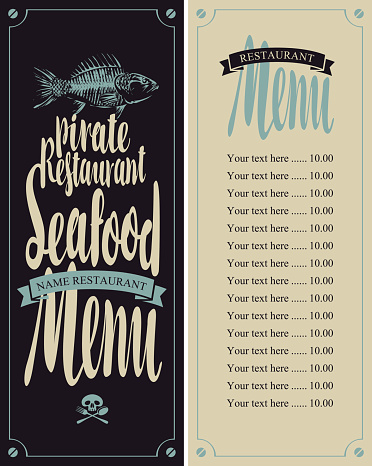 menu pirate restaurants