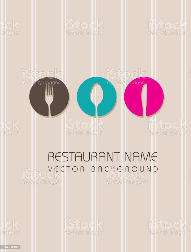 menu vector vector art illustration