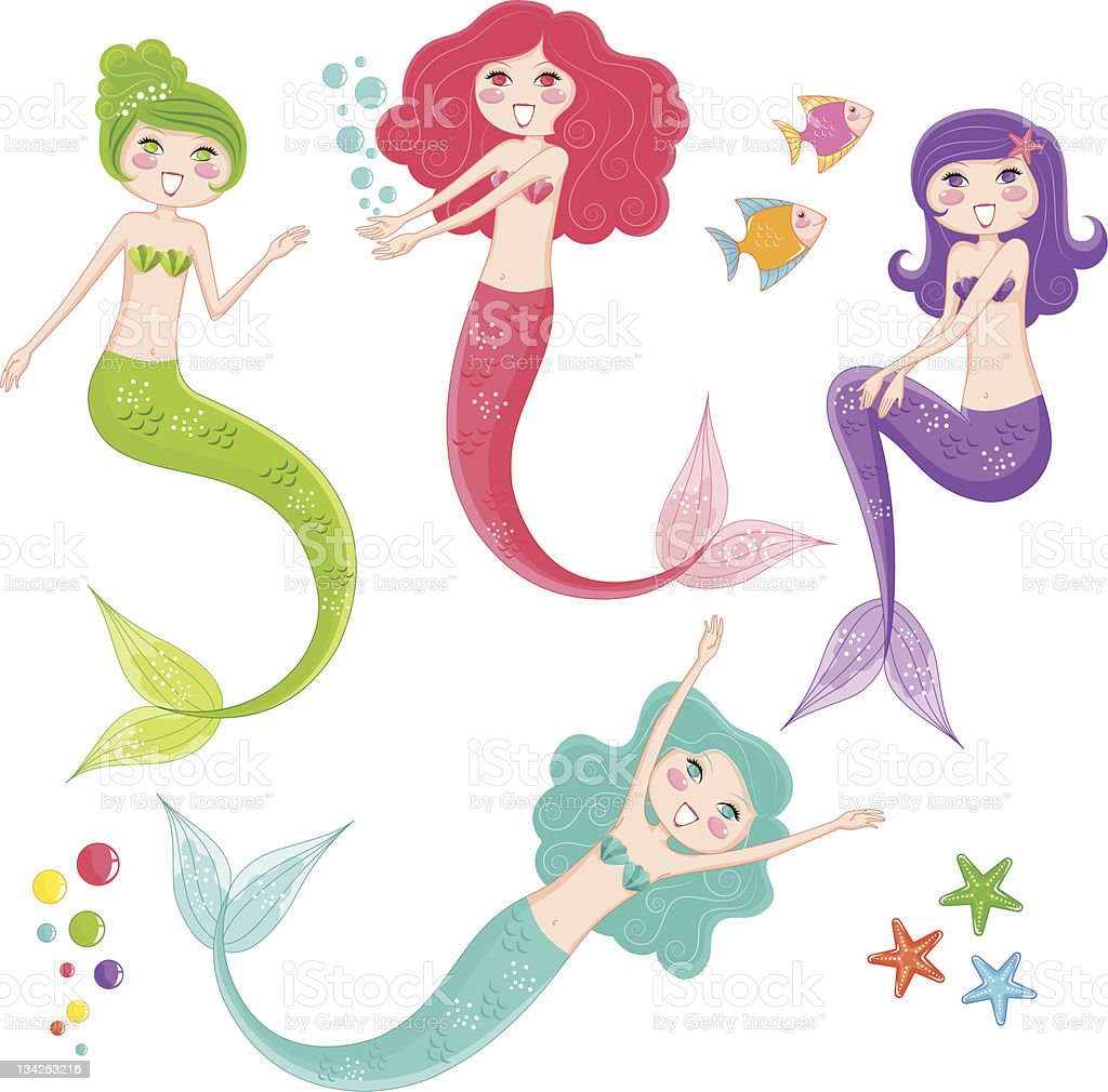 mermaid collection royalty-free mermaid collection stock vector art & more images of adult