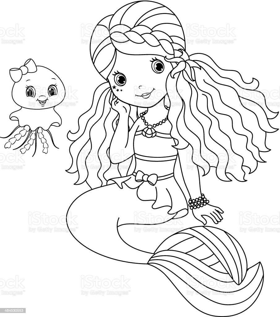 Tactueux image within printable mermaids