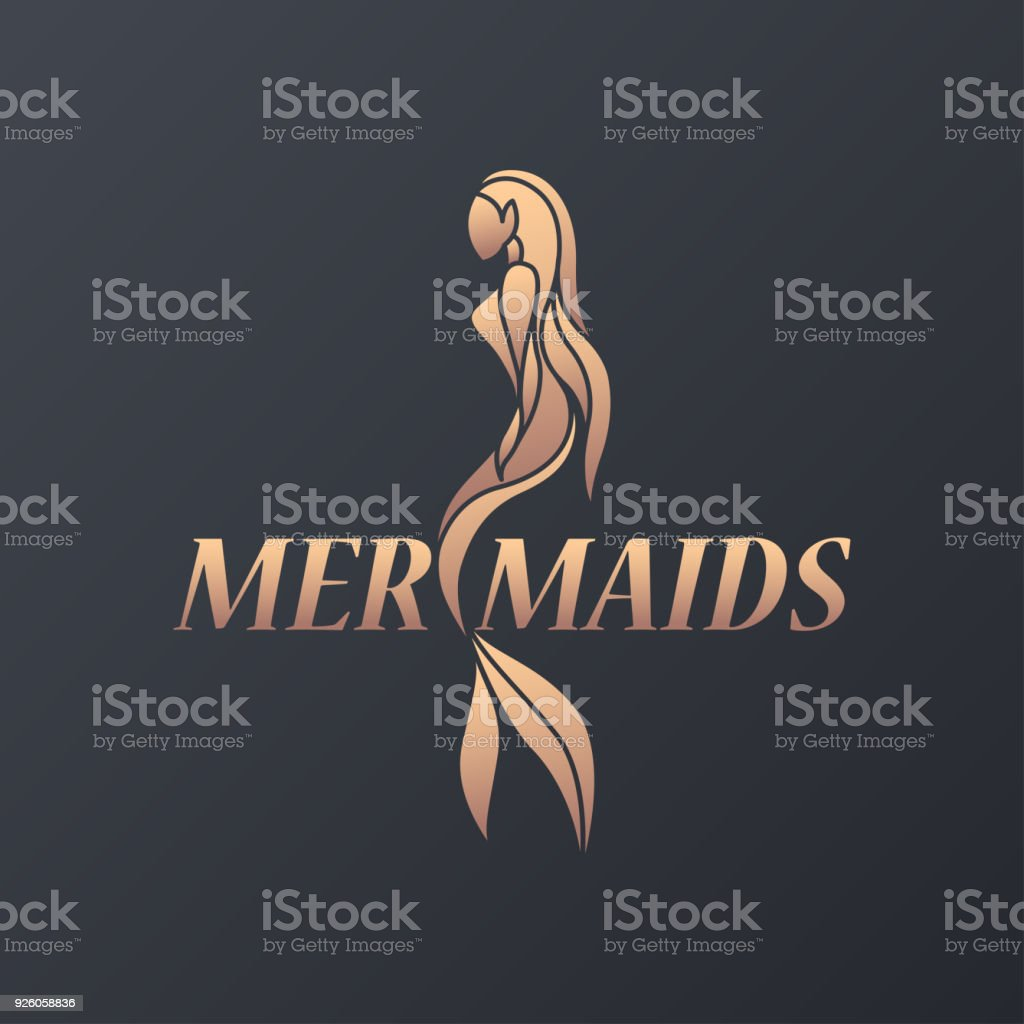 Mermaid  icon design, vector illustration vector art illustration