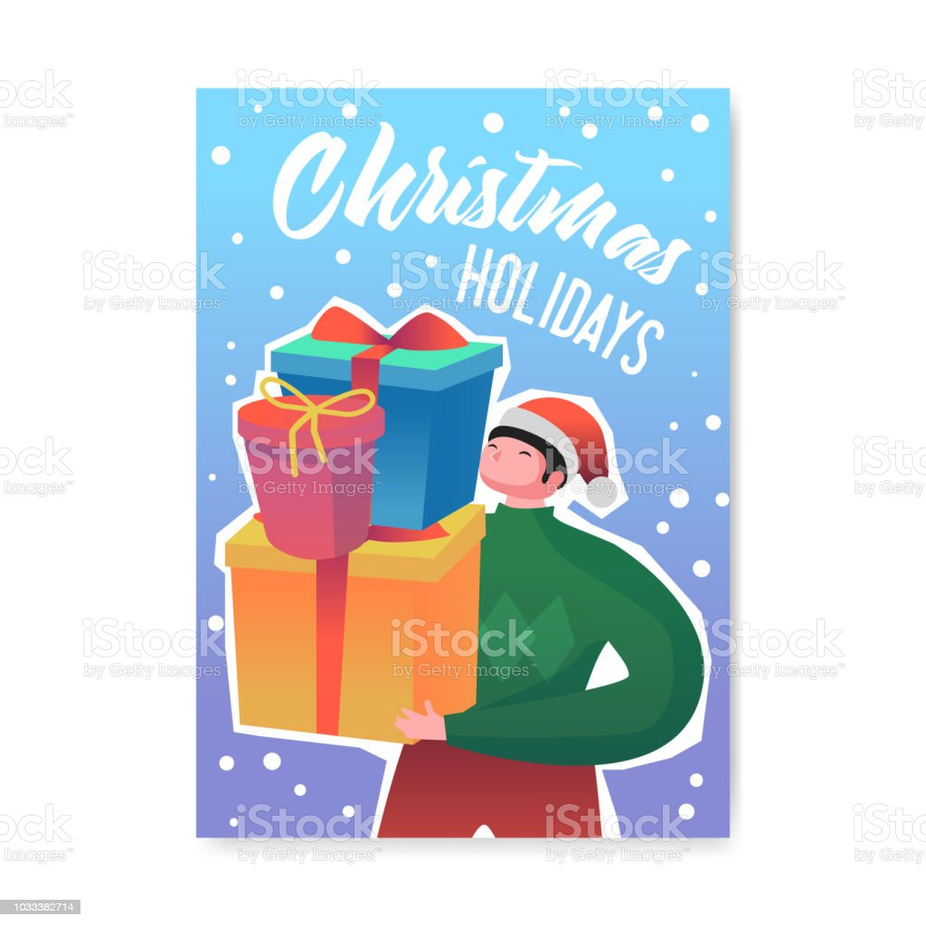 Christmas Party 2019 Clipart.Merry Christmas 2019 Party Poster Invitation Flyer Template