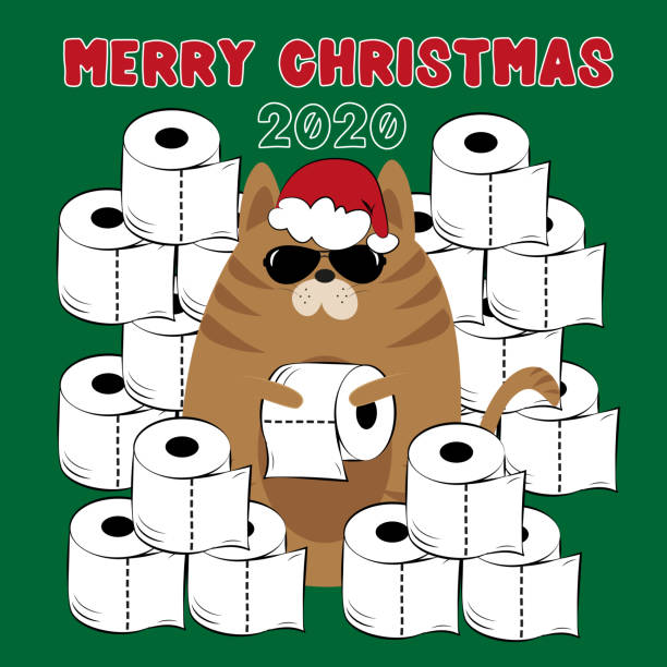 167 Funny Christmas Card Sayings Illustrations Royalty Free Vector Graphics Clip Art Istock