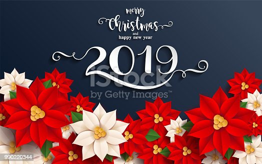 50 Beautiful Merry Christmas And Happy New Year Pictures: Merry Christmas And Happy New Year 2019 Background