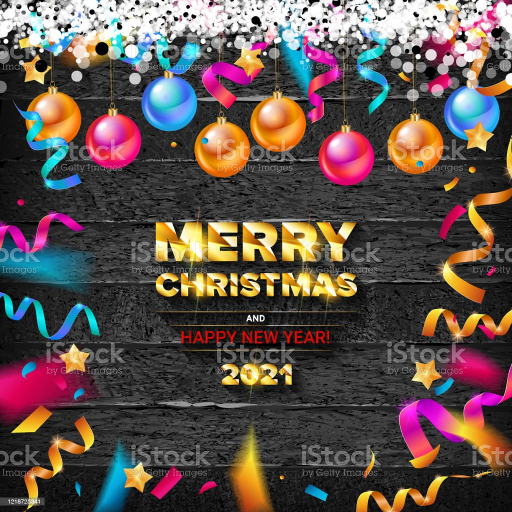 merry christmas and happy new year 2021 stock illustration download image now istock https www istockphoto com vector merry christmas and happy new year 2021 gm1218725341 356219761