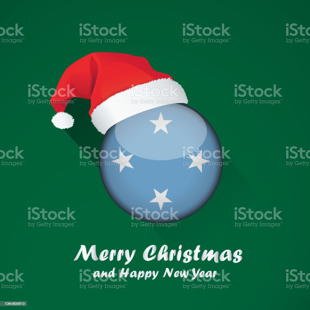 merry christmas and happy new year background design with glossy round flag royalty free merry