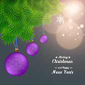 merry christmas and happy new year background glitter sparkling background