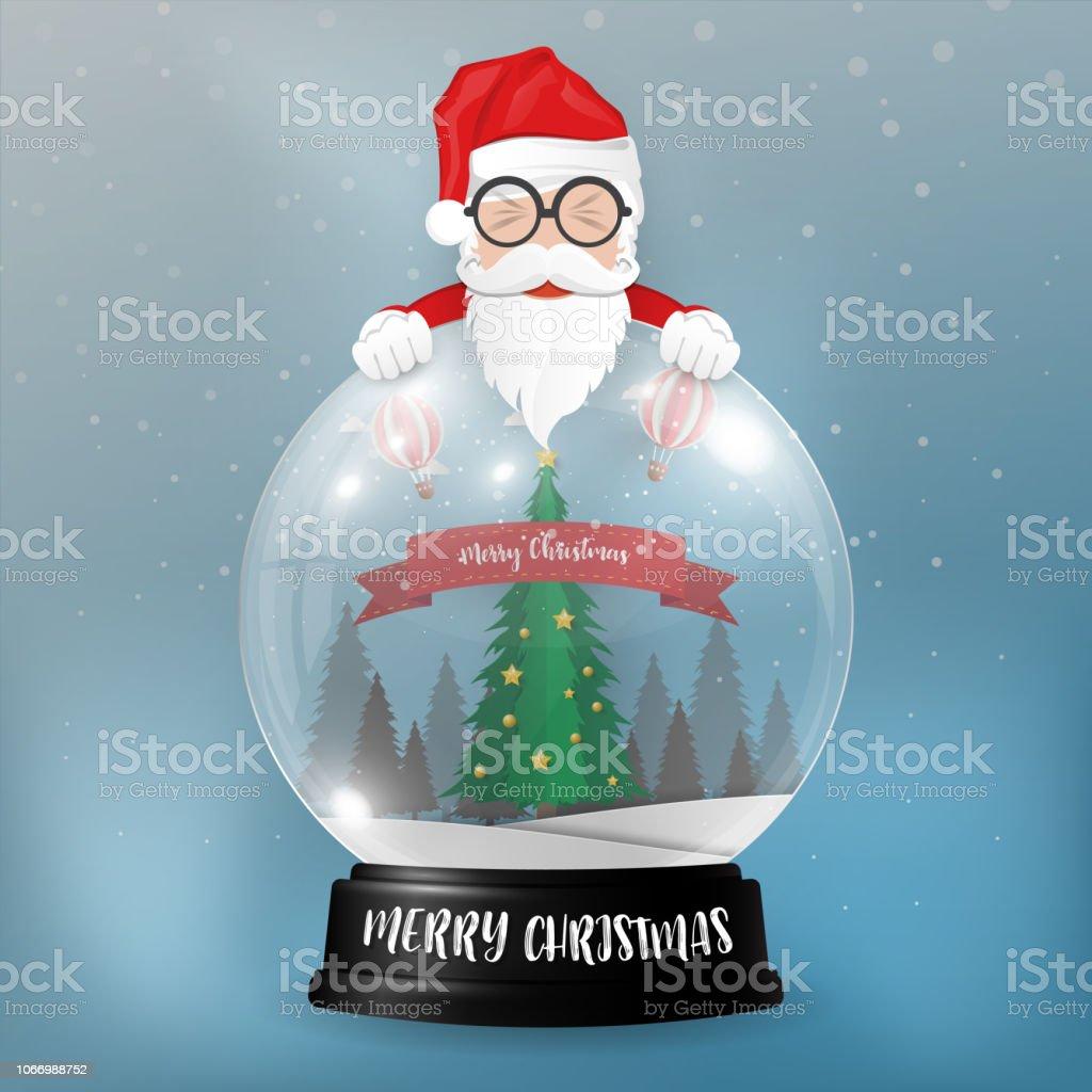 Joyeux Noël Et Bonne Année Historique Père Noël Bonhomme De