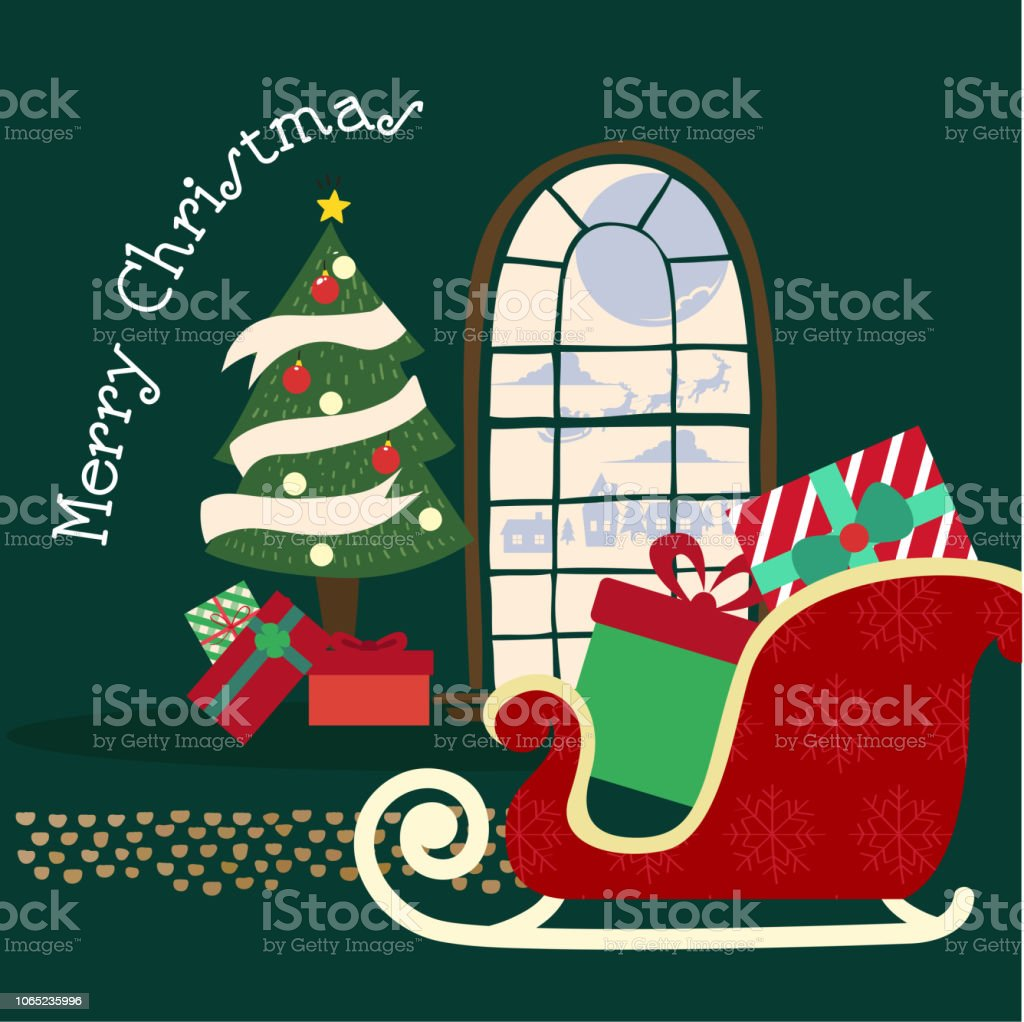 merry christmas and happy new year background snowman and christmas tree paper art and