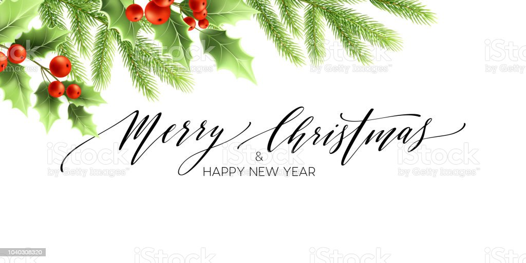 merry christmas and happy new year banner design royalty free merry christmas and happy new