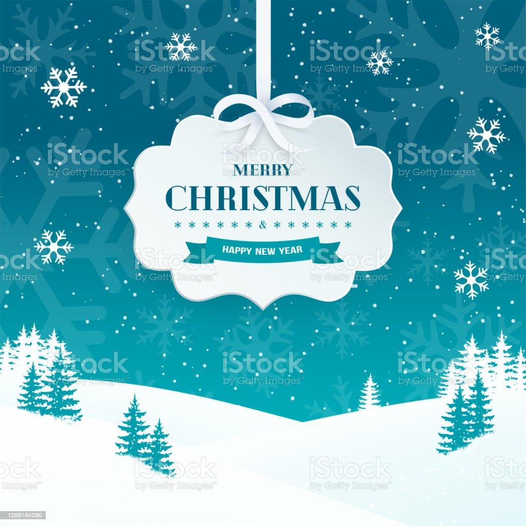 Frohe Weihnachten Und Happy New Year.Frohe Weihnachten Und Happy New Year Grußkarte Hintergrund Mit