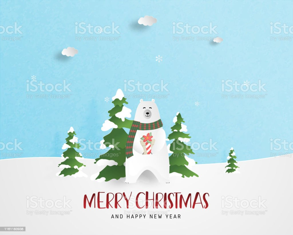 Joyeux Noel Et Nouvel An.Joyeux Noel Et Bonne Carte De Vœux De Nouvel An Dans Le