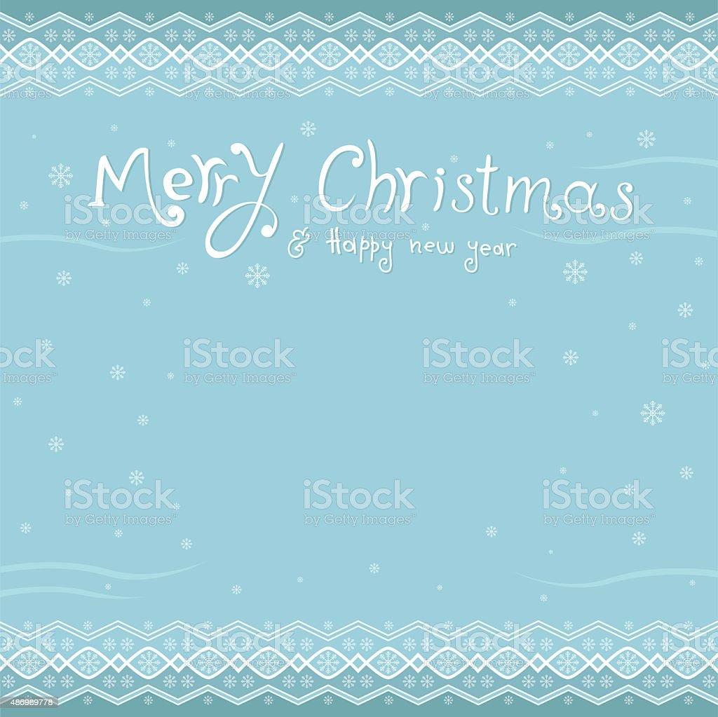 Frohe Weihnachten Und Glückliches Neues Jahr Begrüßung Karte ...