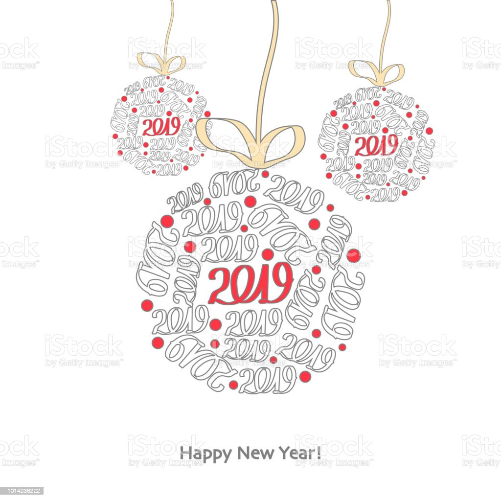 merry christmas and happy new year greeting card template royalty free merry christmas and