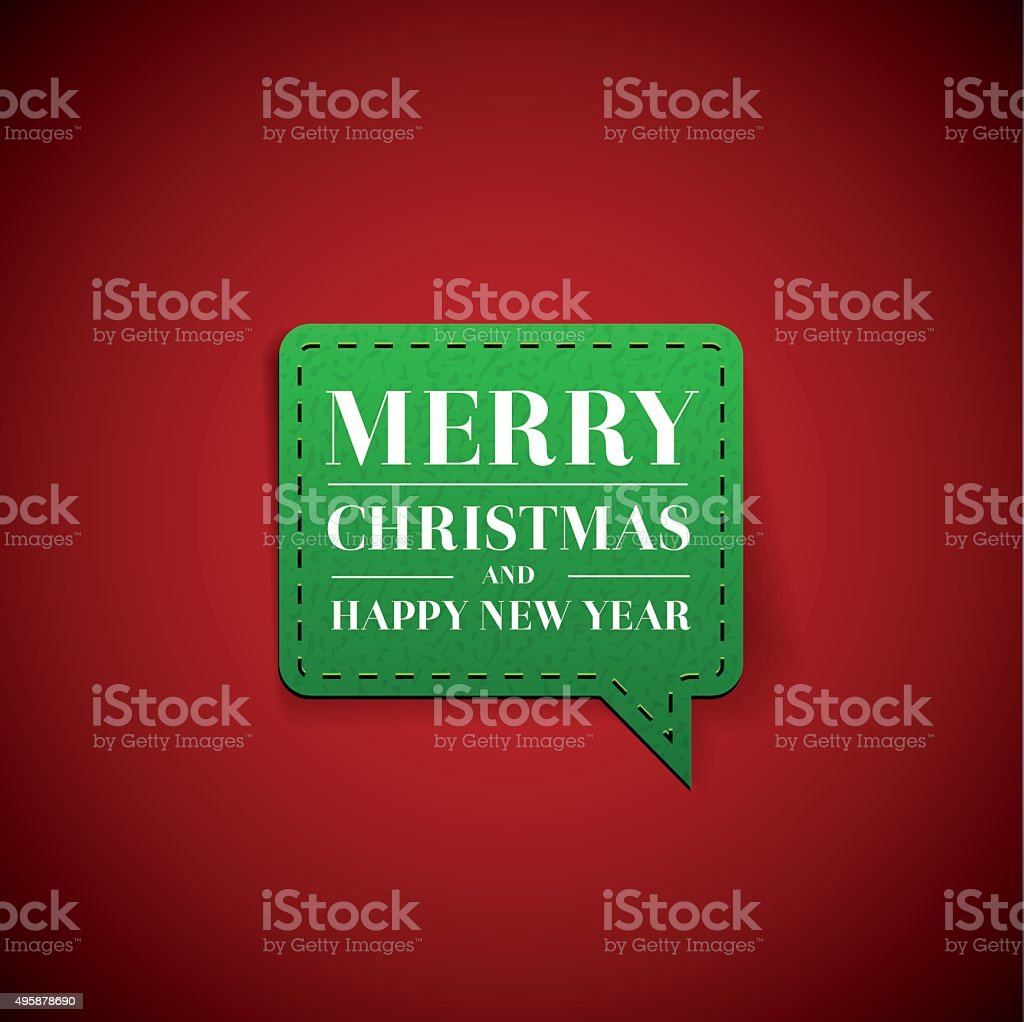 merry christmas and happy new year label royalty free merry christmas and happy new year