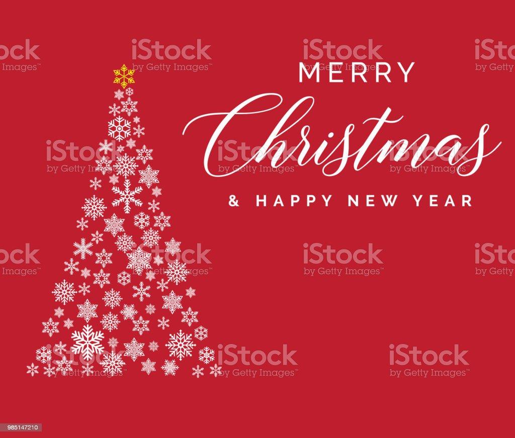 Joyeux Noel Et Bonne Annee Modele De Lettrage Carte De Voeux Ou