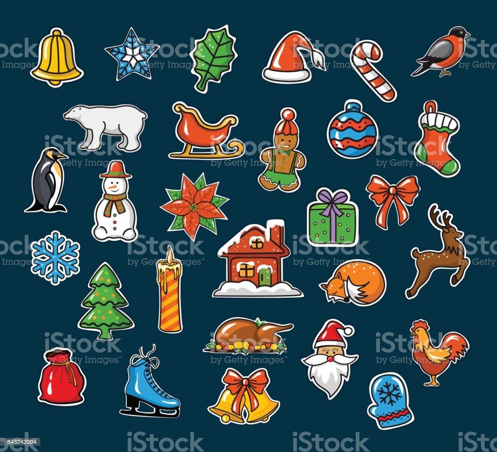 Prettige Kerstdagen En Gelukkig Nieuwjaar Seizoensgebonden Winter