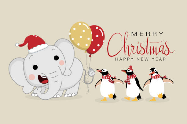 Royalty Free White Elephant Gift Clip Art, Vector Images ...