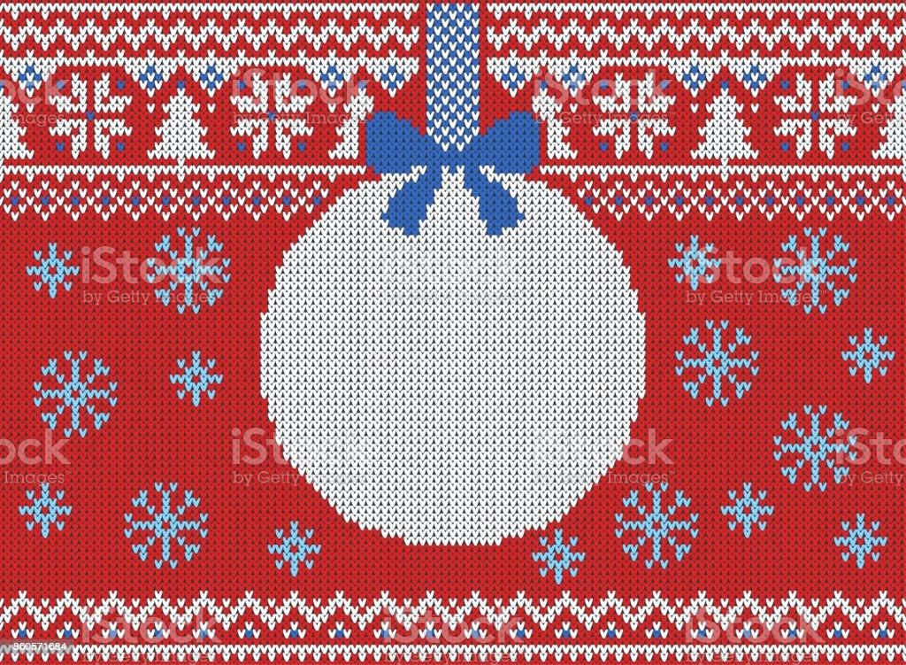 Ilustración de Feliz Navidad Y Año Nuevo Punto De Patrones Sin ...