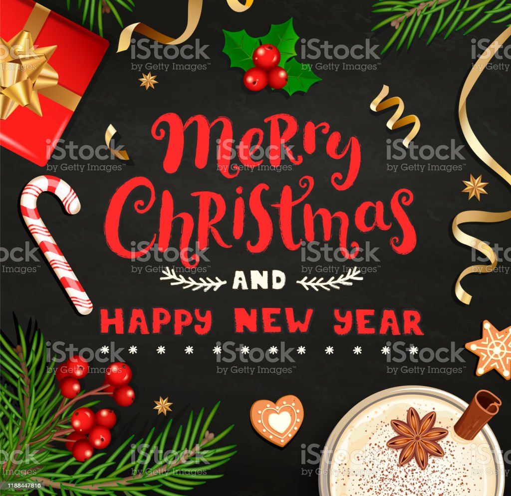 merry christmas and new year wishing card stock illustration download image now istock merry christmas and new year wishing card stock illustration download image now istock