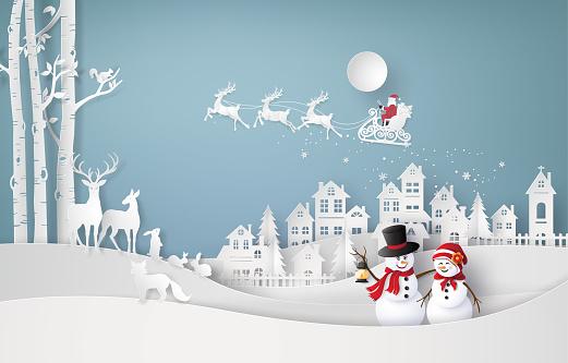 Merry Christmas and winter season