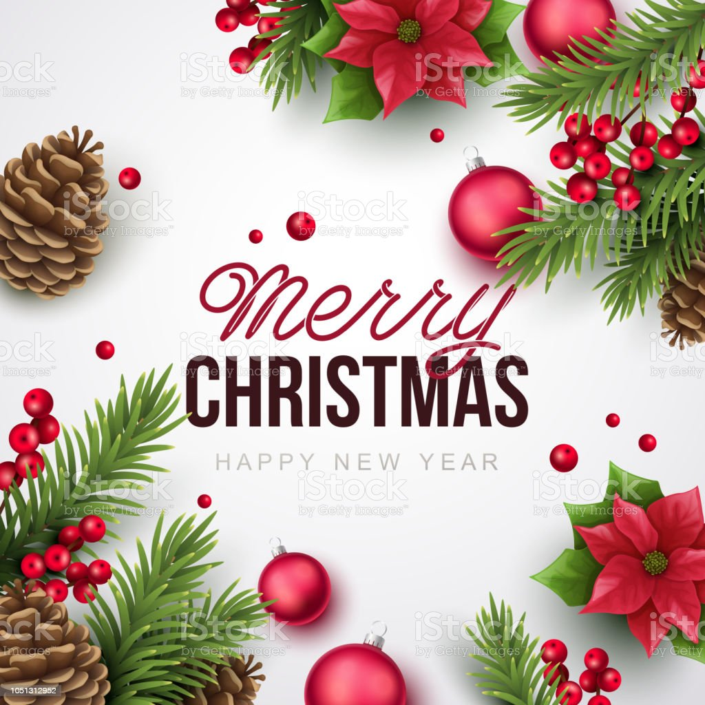 Merry Christmas Background.Merry Christmas Background Stock Illustration Download