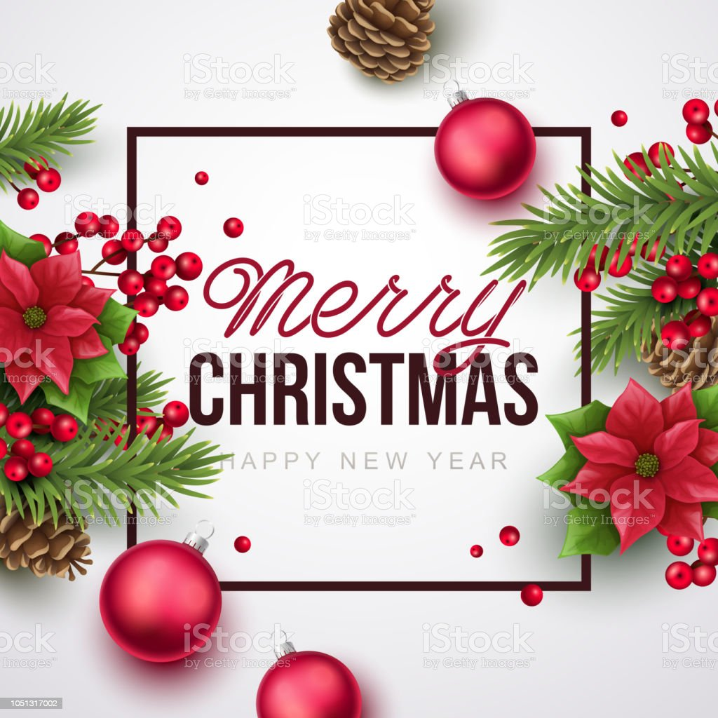 merry christmas background stock vector art & more images of branch