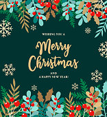 istock Merry Christmas Background 1281421691