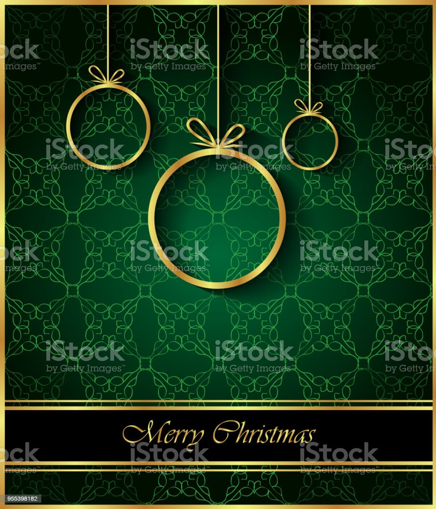 2019 Merry Christmas background. - Grafika wektorowa royalty-free (2019)