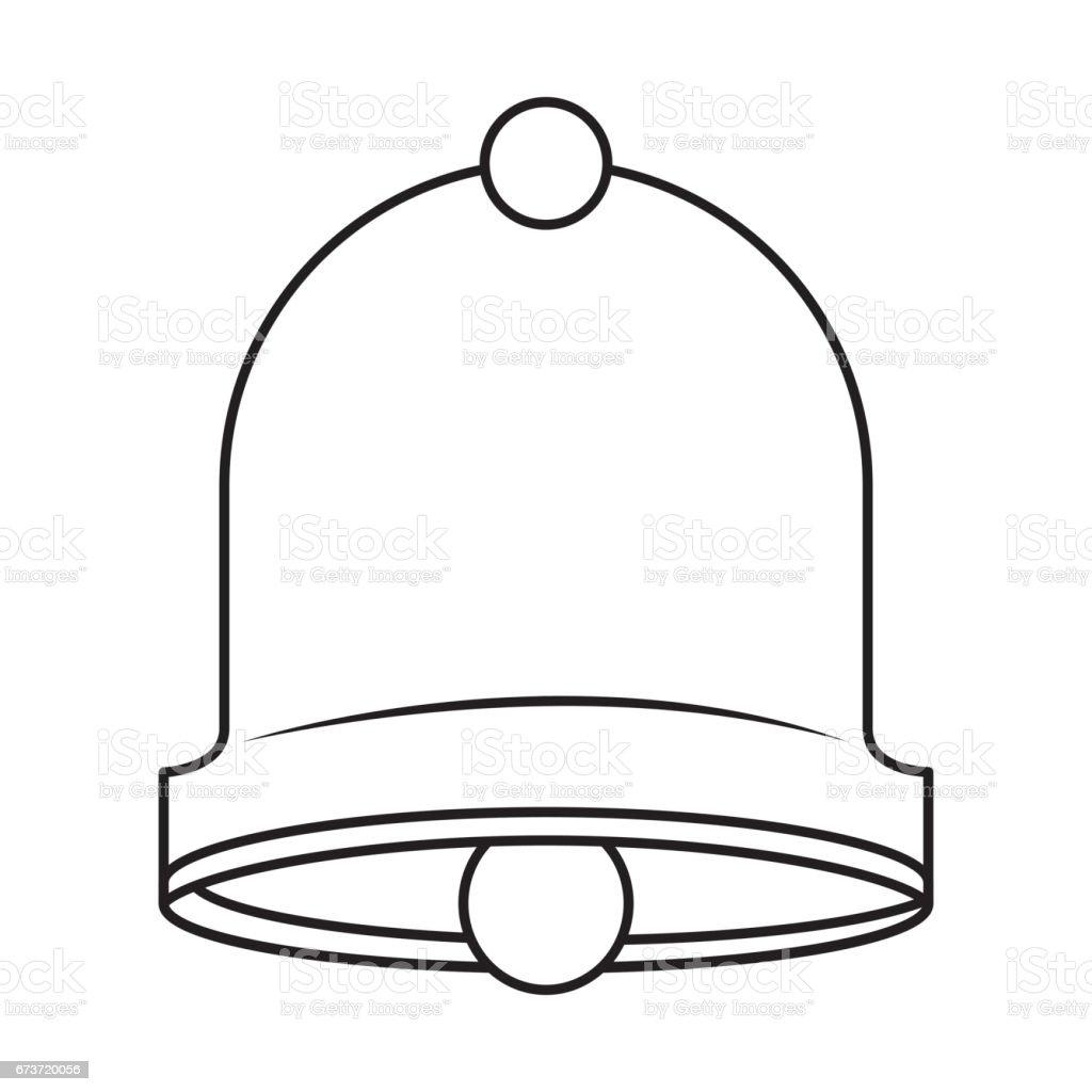 icône de cloche joyeux Noël icône de cloche joyeux noël – cliparts vectoriels et plus d'images de art libre de droits
